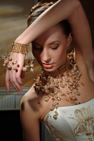Женские ювелирные украшения своими руками
